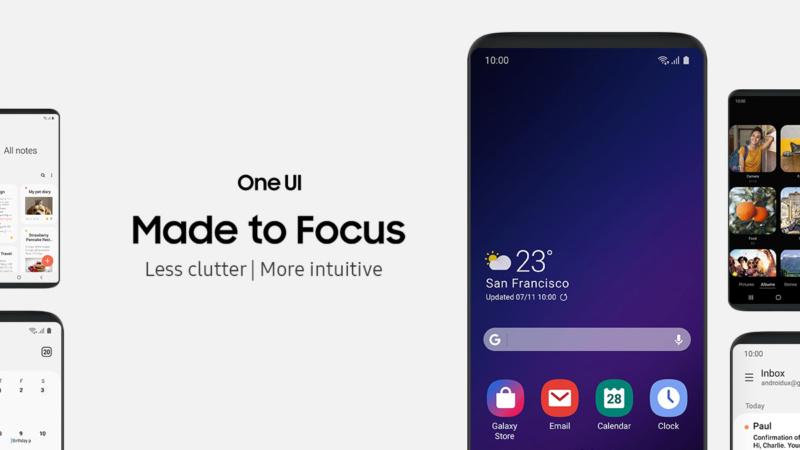 """[NEWS] Samsung dévoile une vidéo de sa nouvelle surcouche """"One UI"""" Oneui_10"""