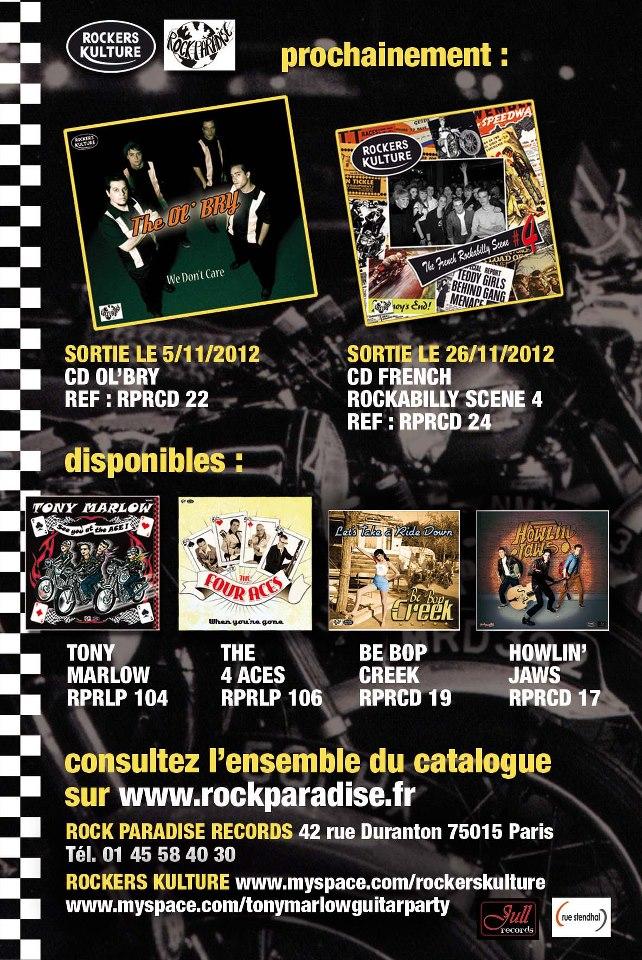 """Prochainement ...4 ème compilation """"Rockers Kulture & Sortie du CD des Ol' Bry  Pearl355"""