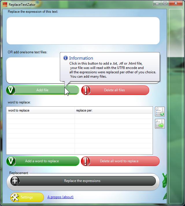 [Open source] ReplaceTextZator v2 2012-010