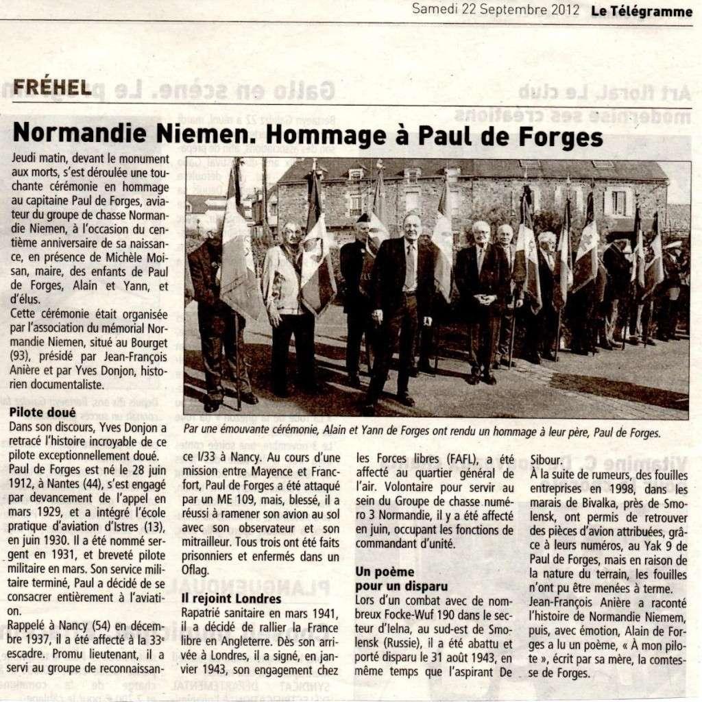 20/09/12, centenaire de la naissance de Paul de Forges 24226410