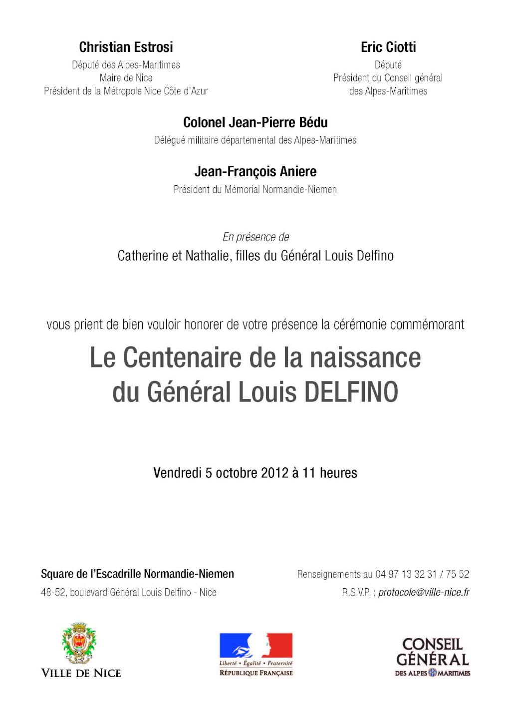centenaire de la naissance du général Louis Delfino Carton10