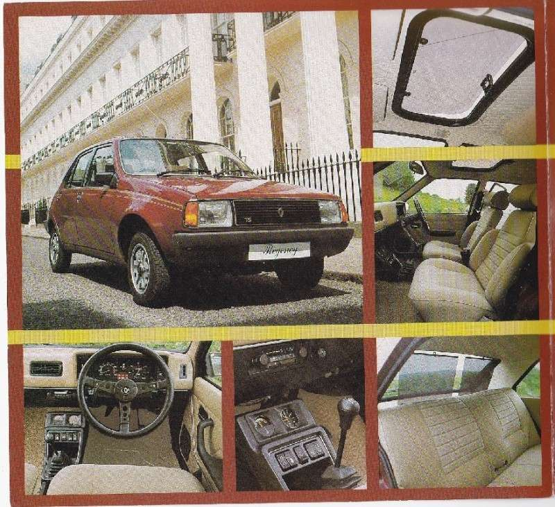Brochures Regency (GB), Renault Boutique (NL), etc - Librairie - AutoPassion