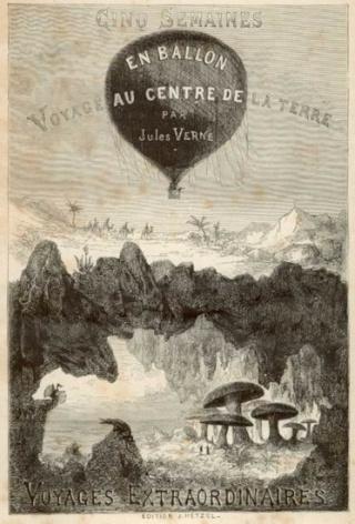 CINQ SEMAINES EN BALLON de Jules Verne Gravur13