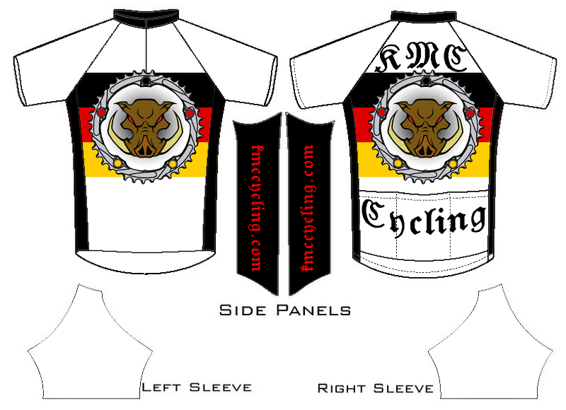KMC Cycling Jersey - Design Submissions Jersey10