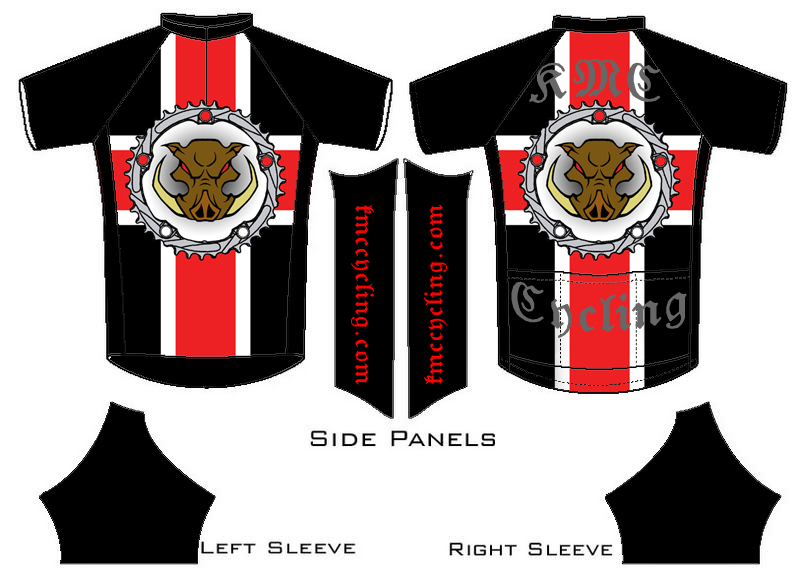 KMC Cycling Jersey - Design Submissions Jersey11