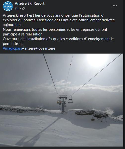 Construction TSD4 | Les Luys - Pas de Maimbré | Anzère ( Suisse ) Captur13