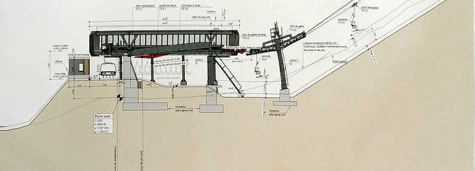 Construction TSD4 | Les Luys - Pas de Maimbré | Anzère ( Suisse ) Gare_110