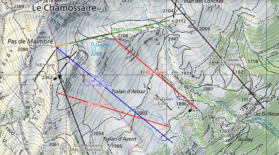 Construction TSD4 | Les Luys - Pas de Maimbré | Anzère ( Suisse ) Pdp_an10