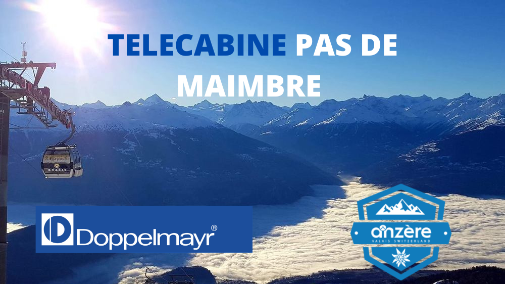 Télécabine 8 places ( TCD8 ) du Pas de Maimbré Teleca10