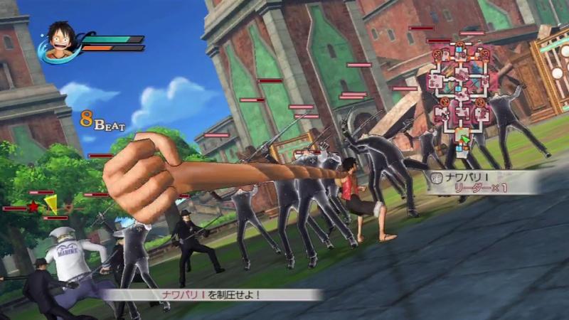 [PS3] One Piece Pirate warriors Origin10