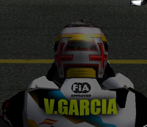 Skin Victor Garcia Karting Casco111