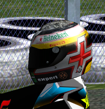 Skin Victor Garcia Karting Casco210