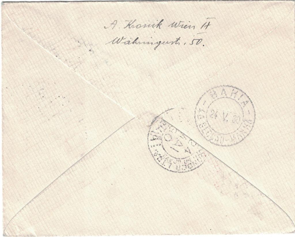 nach - Zeppelinpost aus/nach Österreich Bahia_10