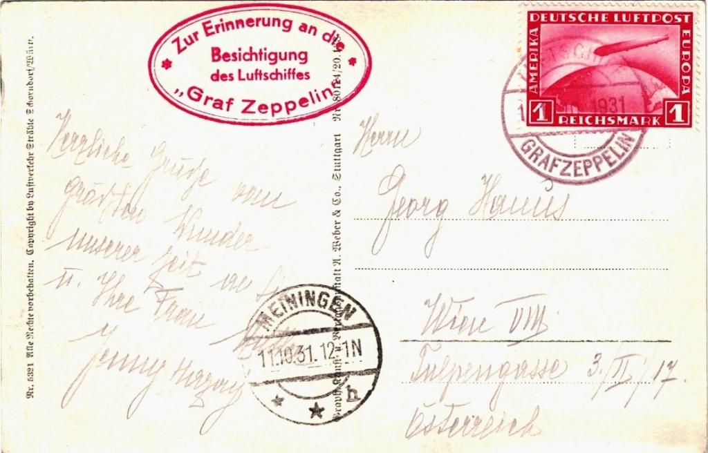 Zeppelin - ungewöhnliche und seltene Destinationen - Seite 2 Besuch10