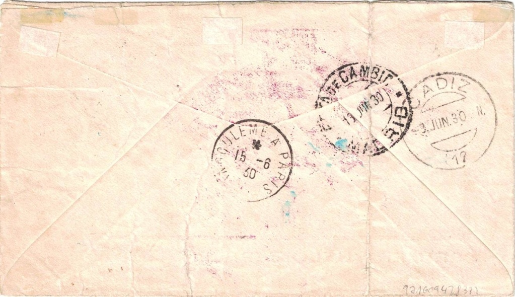 Südamerikafahrt 1930, Post nach Sevilla - Seite 3 Cadiz_10