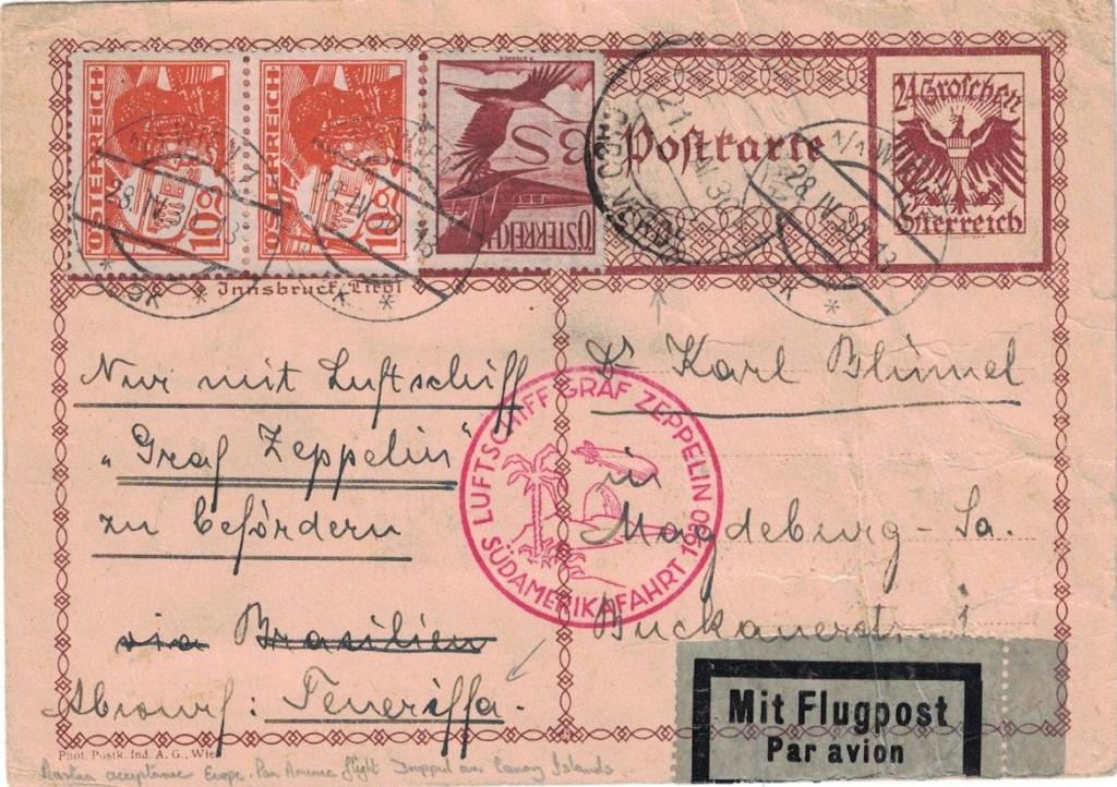 nach - Zeppelinpost aus/nach Österreich Cruz_a10