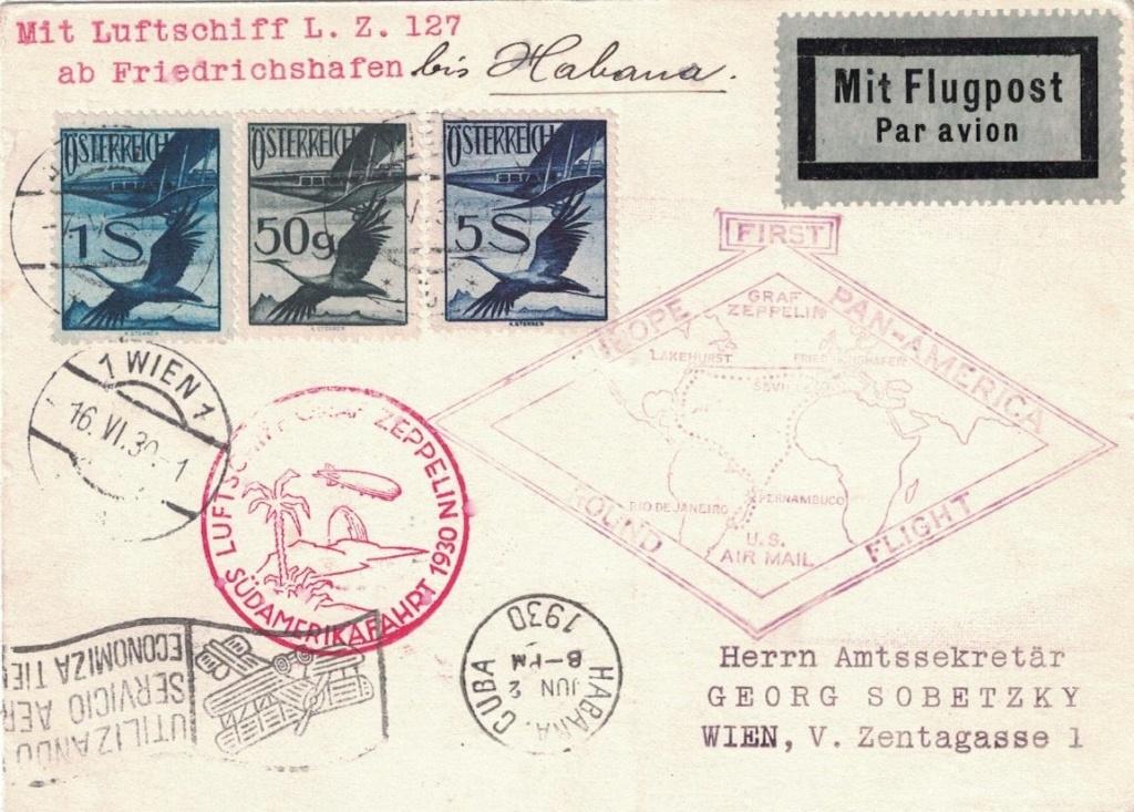 nach - Zeppelinpost aus/nach Österreich Havann10