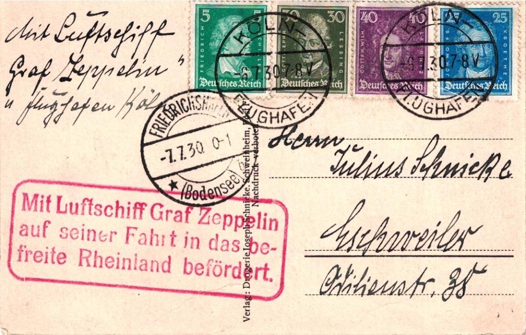nach - Zeppelin - ungewöhnliche und seltene Destinationen - Seite 2 Obersc10