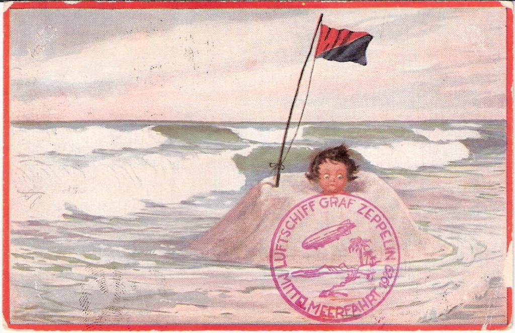 Zeppelinpost der Besatzung - Seite 2 Sieger14