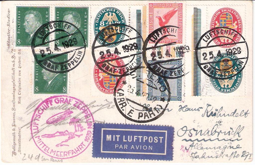 Zeppelinpost der Besatzung - Seite 2 Sieger16