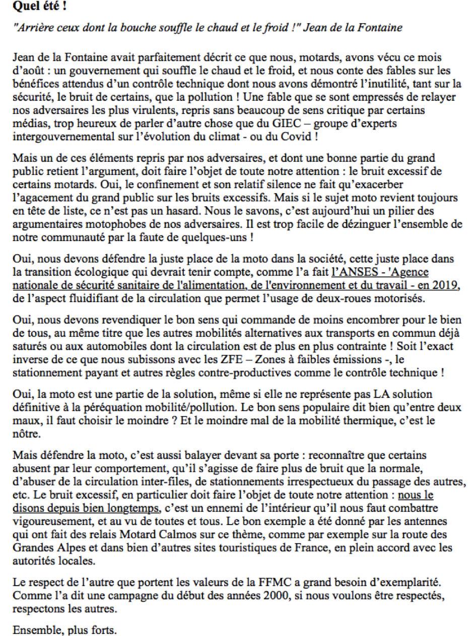 Contre le Contrôle Technique par le Forum Passion-Harley - Page 39 Ffmc10