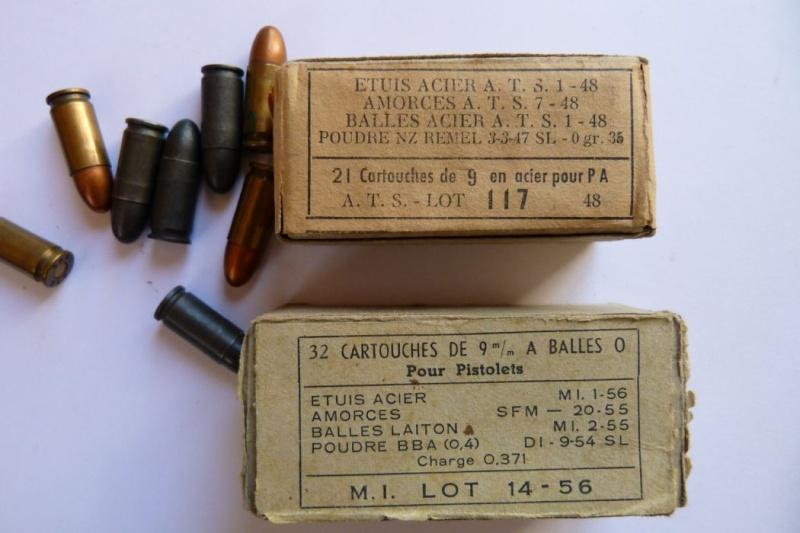 Les étuis et accessoires des pistolets Luger produits par Mauser en 1945-1946. 00910