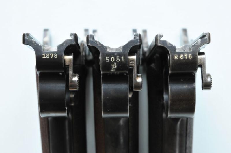 Les pistolets Parabellum suisses, modèles DWM 1900. 02310