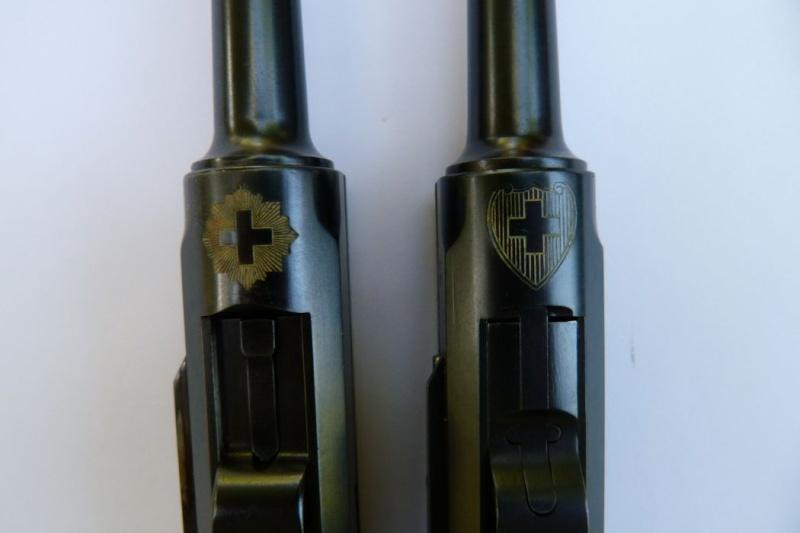 Les pistolets Parabellum suisses, modèles DWM 1906. Luger_20