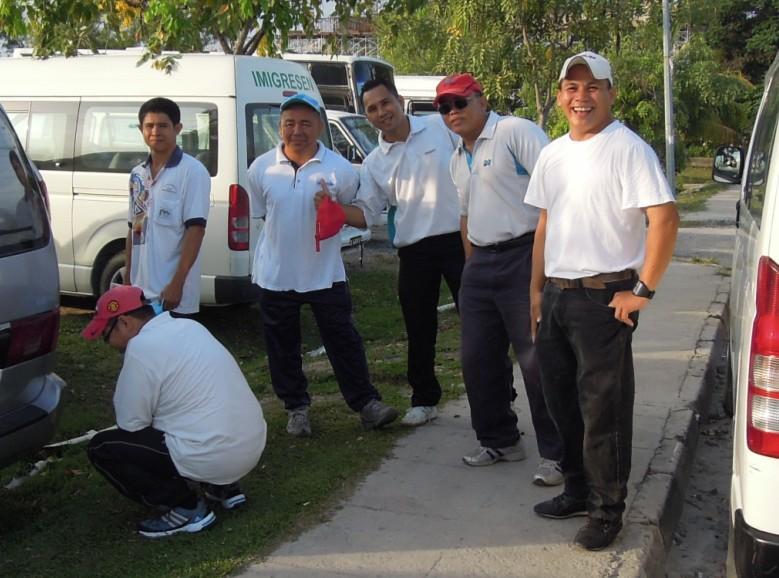 Latihan Perbarisan Hari Kebangsaan Peringkat Negeri Sabah Bagi 31hb. Ogos 2012 1011