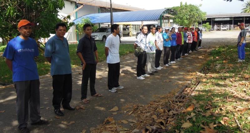 Latihan Perbarisan Hari Kebangsaan Peringkat Negeri Sabah Bagi 31hb. Ogos 2012 110