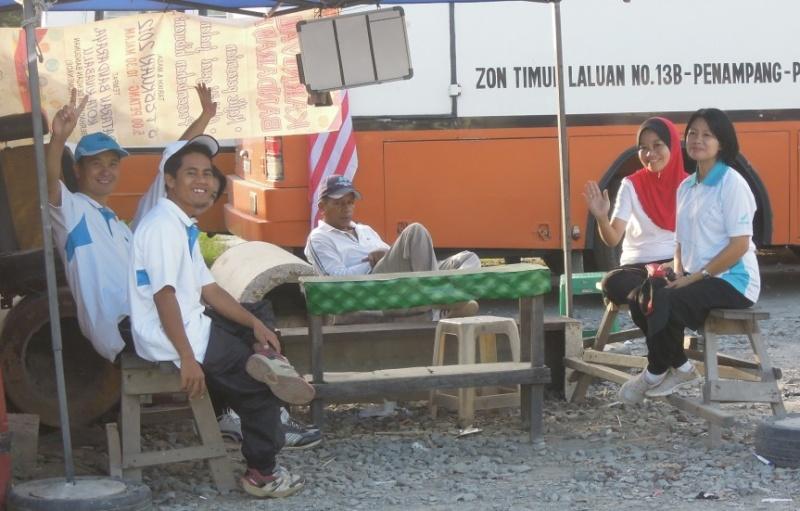 Latihan Perbarisan Hari Kebangsaan Peringkat Negeri Sabah Bagi 31hb. Ogos 2012 1111