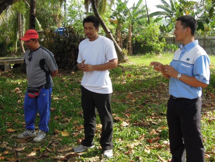 Latihan Perbarisan Hari Kebangsaan Peringkat Negeri Sabah Bagi 31hb. Ogos 2012 1210