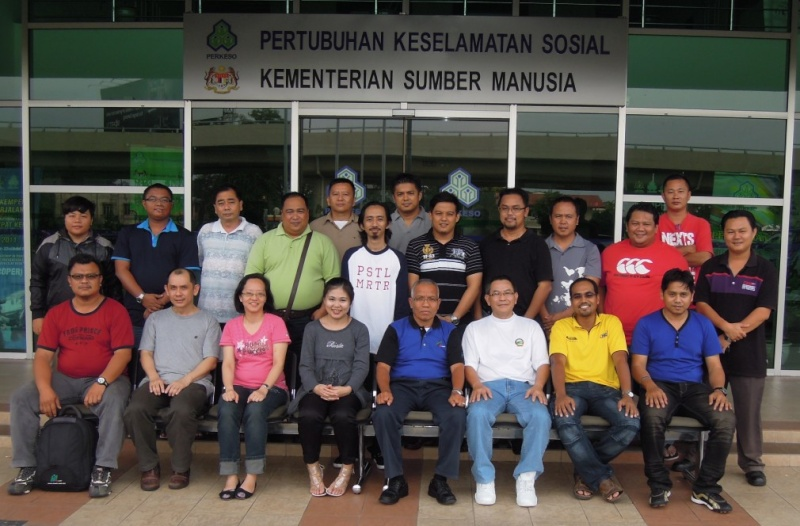 SAFETY AND HEALTH OFFICER CERTIFICATE PROGRAMME (PART TIME) 22.09 - 09.12.2012, KOTA KINABALU SABAH 147