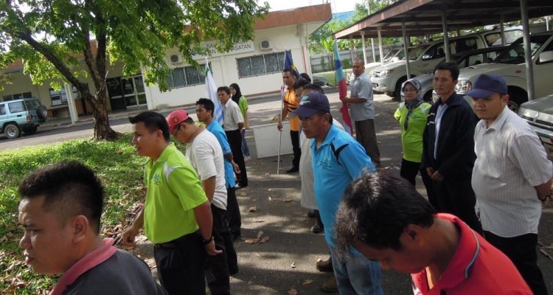 Latihan Perbarisan Hari Kebangsaan Peringkat Negeri Sabah Bagi 31hb. Ogos 2012 213