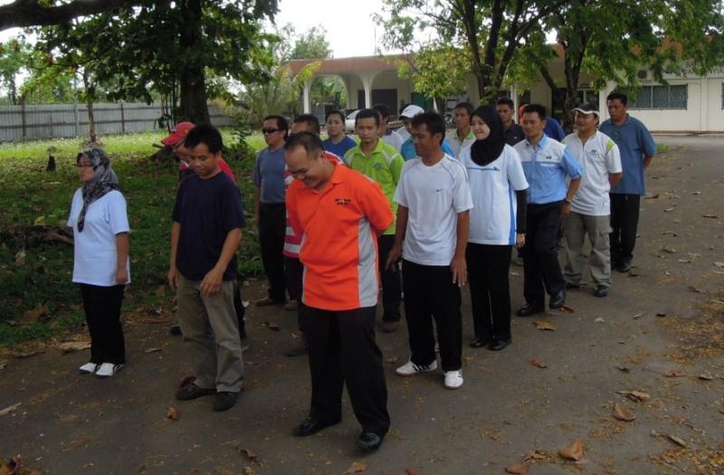 Latihan Perbarisan Hari Kebangsaan Peringkat Negeri Sabah Bagi 31hb. Ogos 2012 310