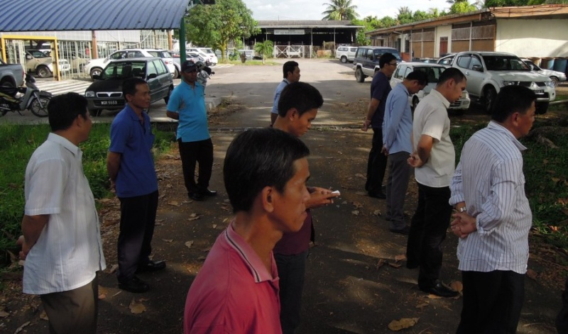 Latihan Perbarisan Hari Kebangsaan Peringkat Negeri Sabah Bagi 31hb. Ogos 2012 313