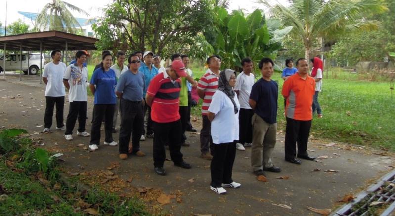 Latihan Perbarisan Hari Kebangsaan Peringkat Negeri Sabah Bagi 31hb. Ogos 2012 410