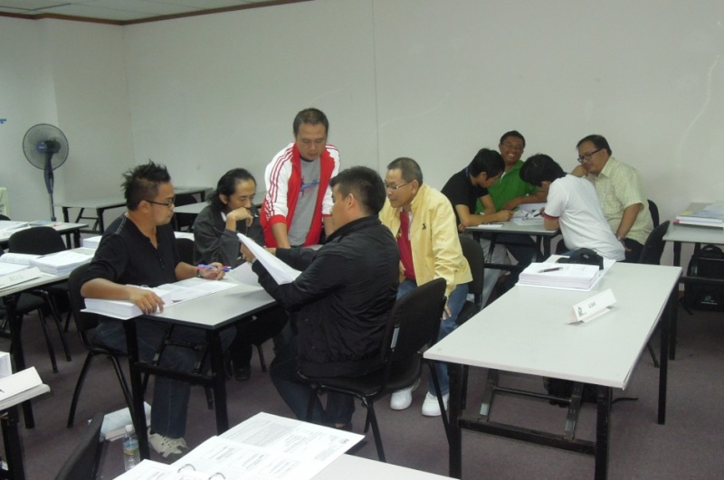 SAFETY AND HEALTH OFFICER CERTIFICATE PROGRAMME (PART TIME) 22.09 - 09.12.2012, KOTA KINABALU SABAH 420