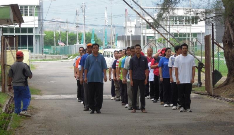 Latihan Perbarisan Hari Kebangsaan Peringkat Negeri Sabah Bagi 31hb. Ogos 2012 510