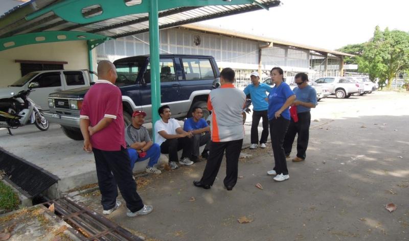 Latihan Perbarisan Hari Kebangsaan Peringkat Negeri Sabah Bagi 31hb. Ogos 2012 610