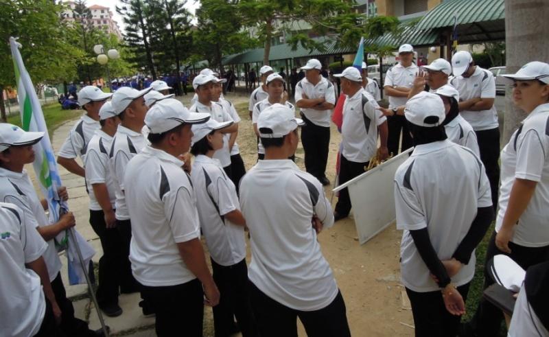 Latihan Perbarisan Hari Kebangsaan Peringkat Negeri Sabah Bagi 31hb. Ogos 2012 - Page 2 713