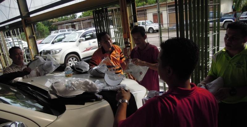 Latihan Perbarisan Hari Kebangsaan Peringkat Negeri Sabah Bagi 31hb. Ogos 2012 812