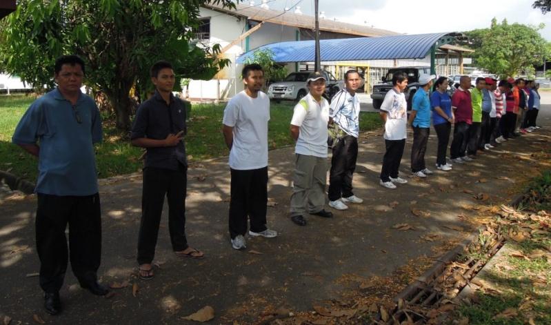 Latihan Perbarisan Hari Kebangsaan Peringkat Negeri Sabah Bagi 31hb. Ogos 2012 910