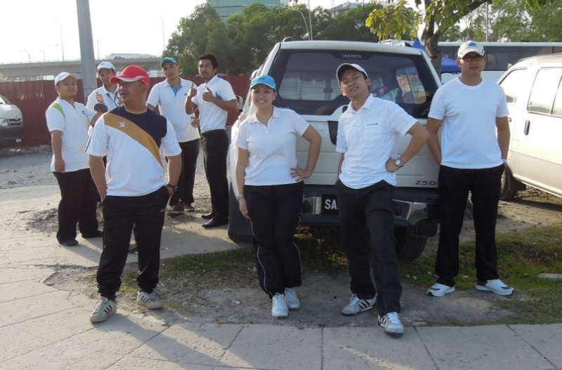 Latihan Perbarisan Hari Kebangsaan Peringkat Negeri Sabah Bagi 31hb. Ogos 2012 912
