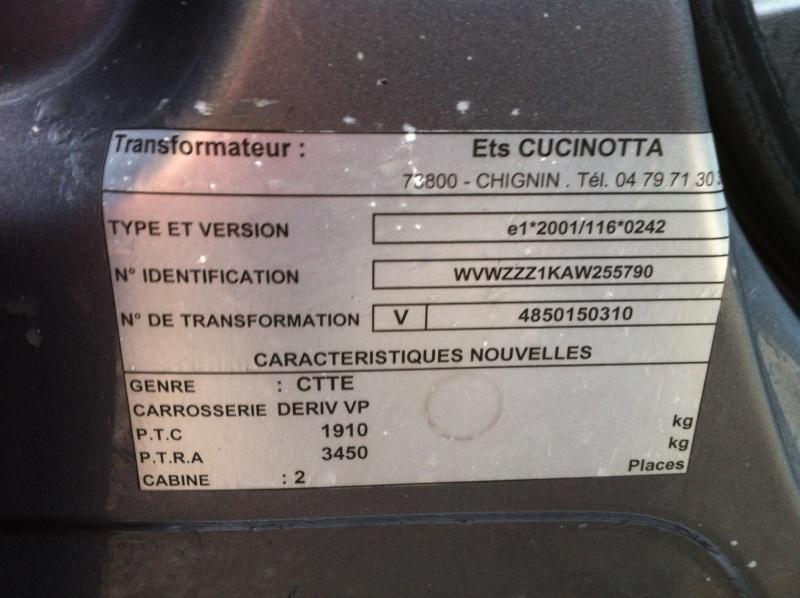 Connaissez vous la GTD DSG VU CTTE 2 places même en réseau VV méfiance Img_0912