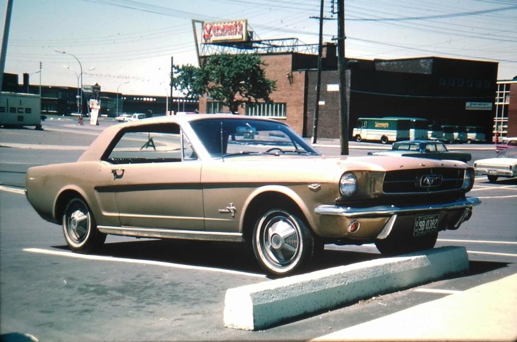 Vieille photo qui inclus des Mustang 65-73  - Page 7 14403710