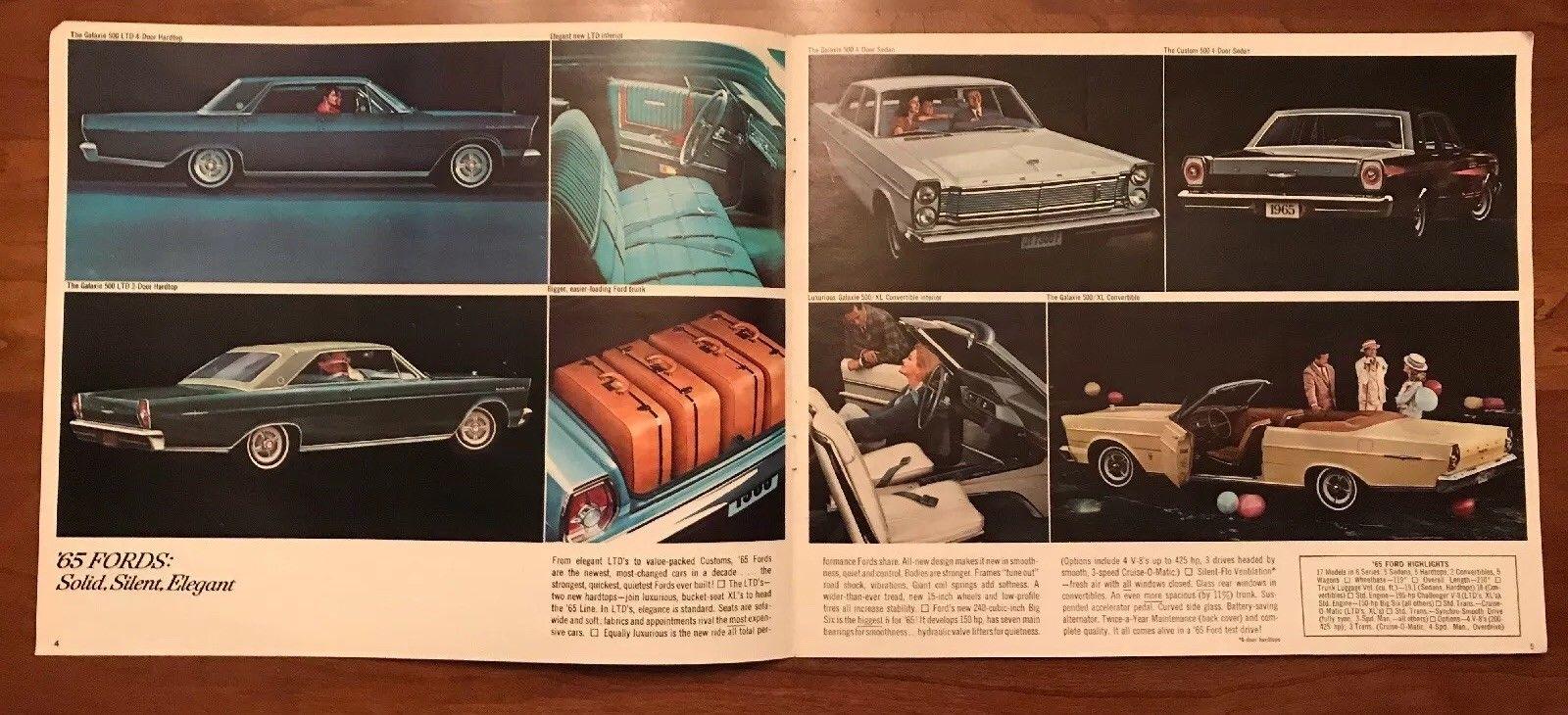 Brochure de vente Ford 1965 (en anglais) 1965_f10
