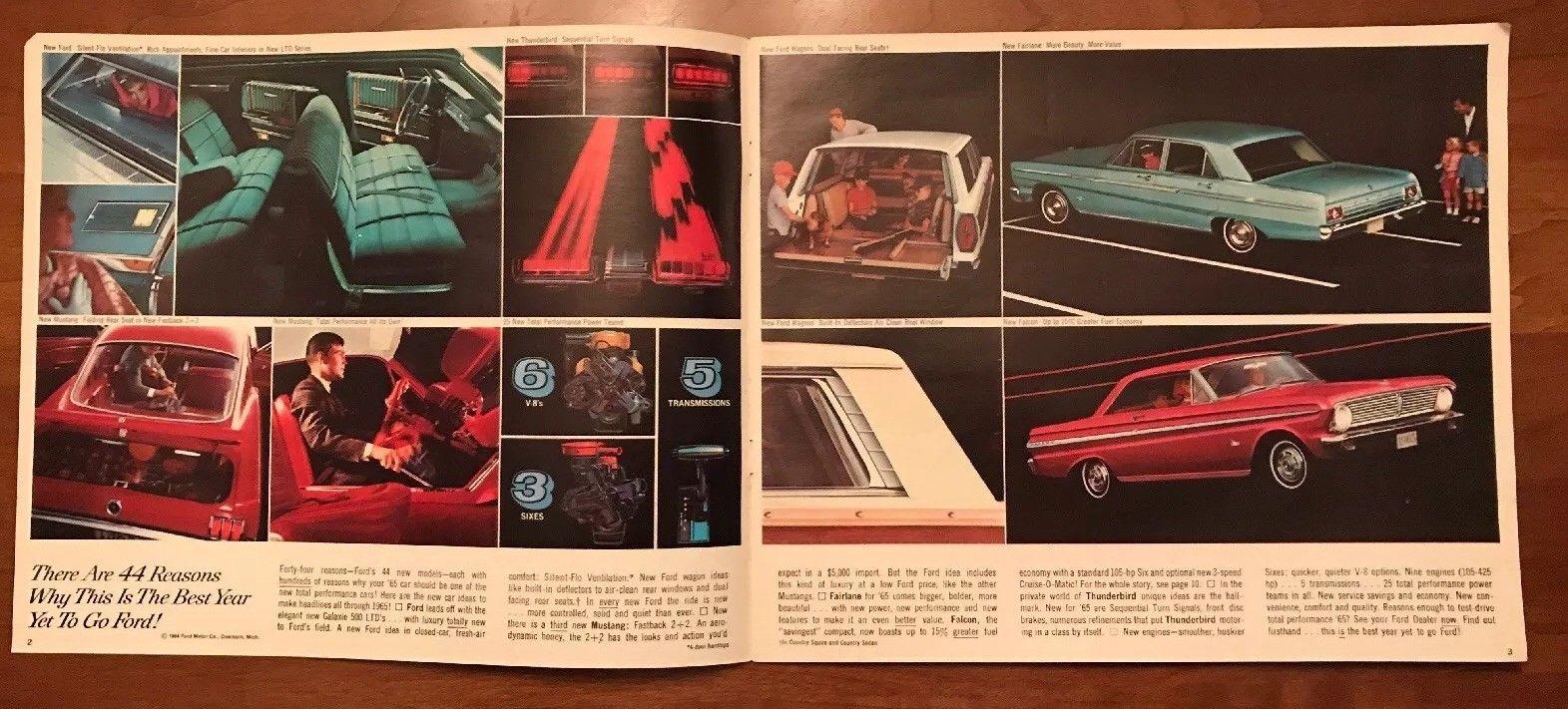Brochure de vente Ford 1965 (en anglais) 1965_f11