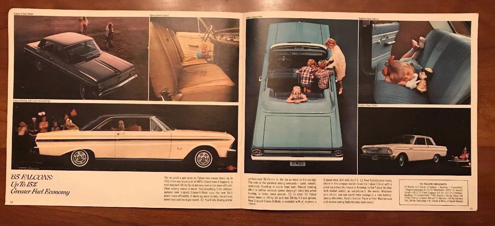 Brochure de vente Ford 1965 (en anglais) 1965_f15