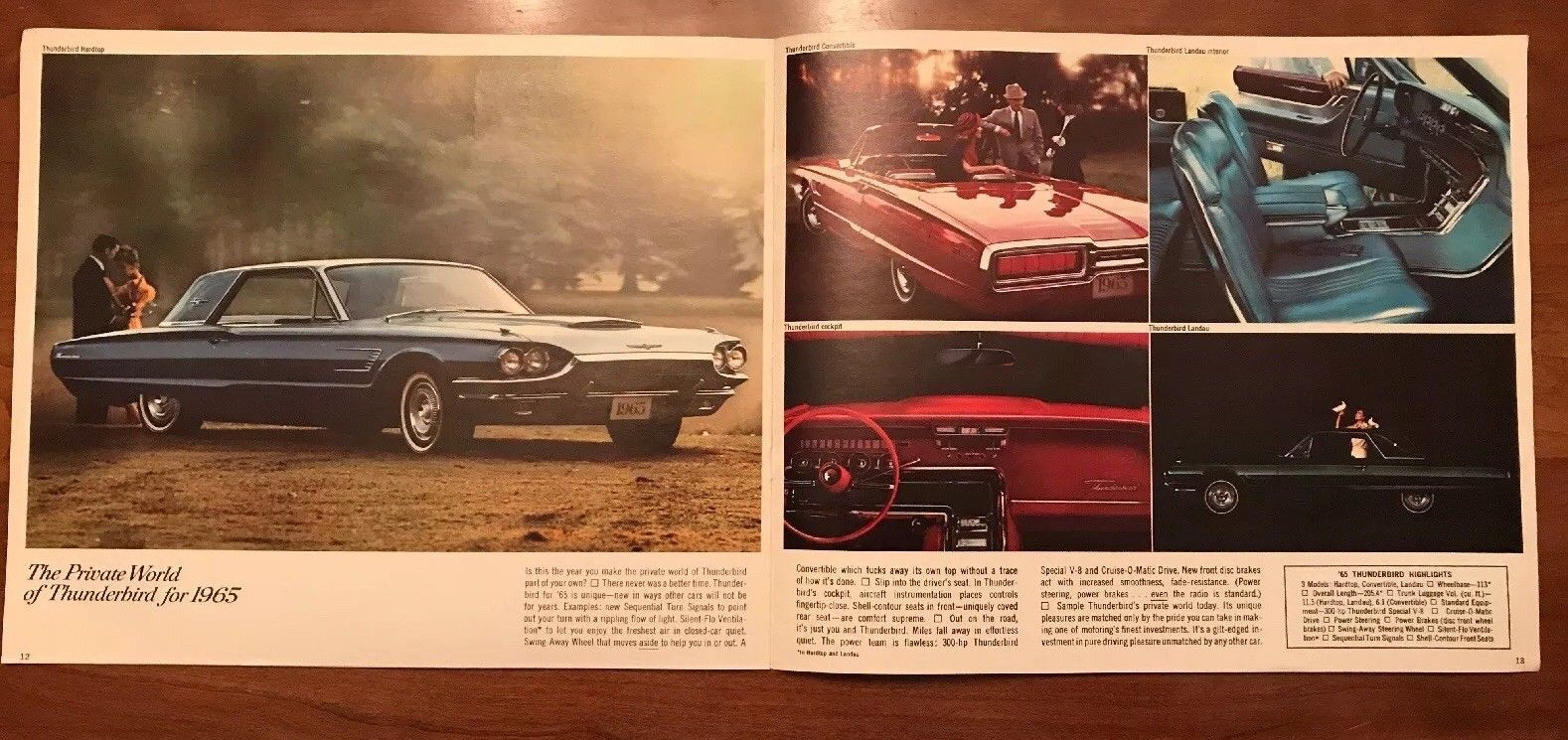 Brochure de vente Ford 1965 (en anglais) 1965_f16